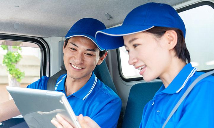 配送実績・車両運行管理システムの構築