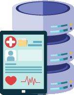 健康管理システムと連携し、スマートに情報管理できます!