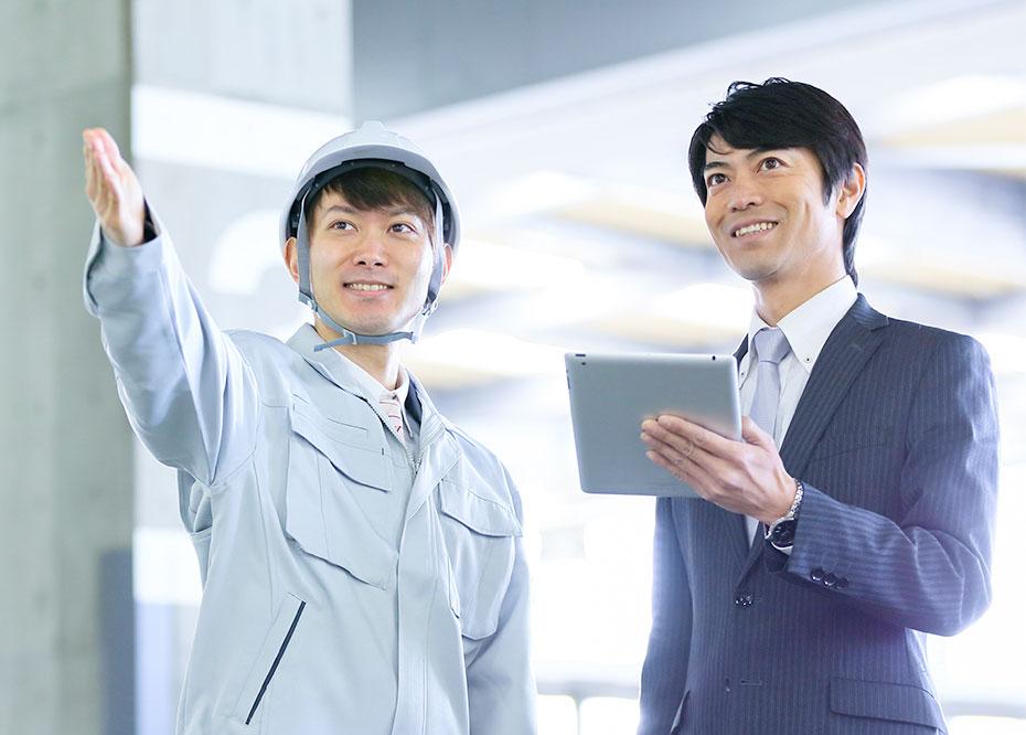 多種多様な製造業のお客様に、<br>システム提案から開発、保守、運用、システムエンジニアリングサービスまでトータルサポート