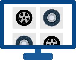 タイヤ独自の商品特性に対応