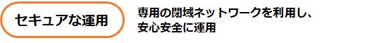 特長_セキュアな運用