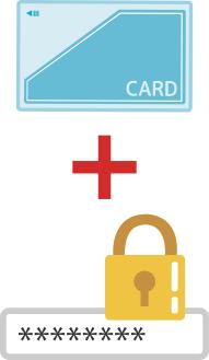 ICカードとパスワードのダブルロックでPCセキュリティ強化